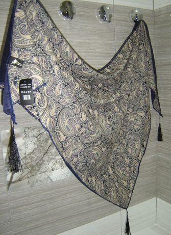 Новый восточный платок-накидка, большой, треугольной формы
