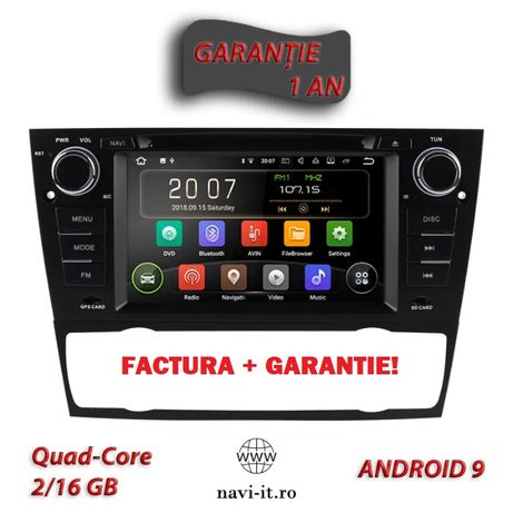 Navigatie auto BMW E90, Android 10, Quad-Core, 2GB RAM, 16GB, GARANTIE