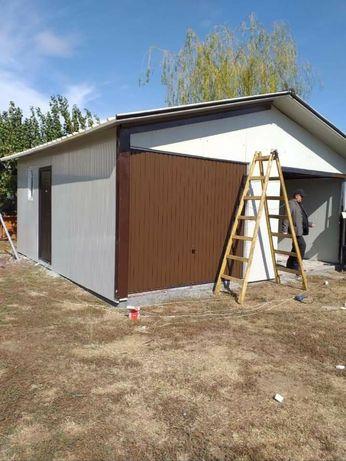 Vând garaje auto din structură metalică