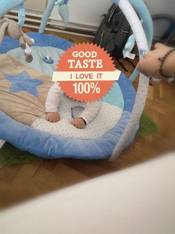 Saltea de joaca/interactiva One two fun pentru bebelusi