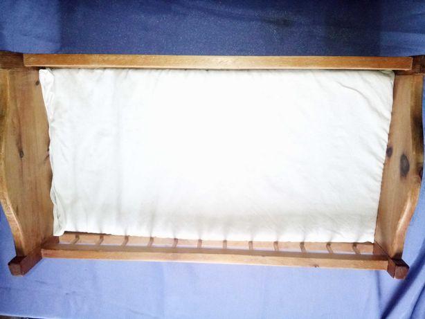 Pătuț botez din lemn masiv