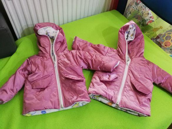 Бебешки якета размер 74/80 -2 бр