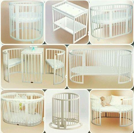 Детская кровать трансформер 8 в1