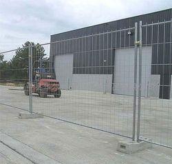 Продавам временна ограда прозирна и плътна