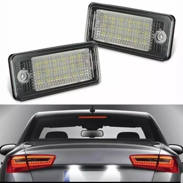 Lampi LED numar DEDICATE AUDI A3 A4 A6 A8 Q7 RS4 RS6 S3 S4 S8 Suceava - imagine 1