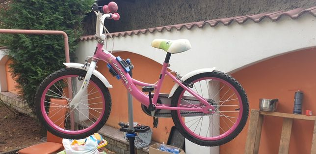 Bicicleta roz  Rich Junior 18