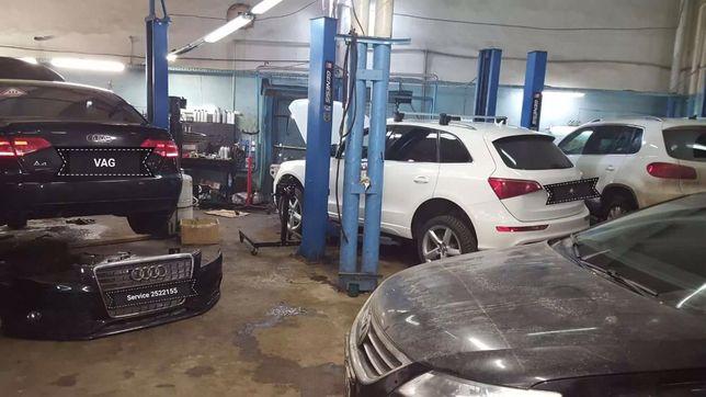 Ремонт двигателей, концерна Audi, Volkswagen, Skoda