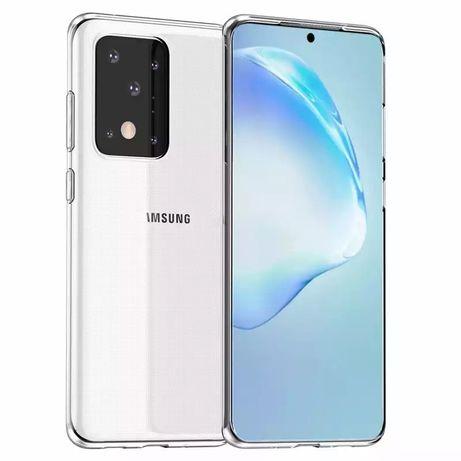 Samsung S20 S20 + S20 Ultra - Husa Anti Soc Crystal Clear Din Silicon