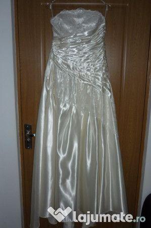 rochie de mireasa stare impecabila marime 42 - 44