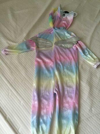 Кигуруми пижама единорог 98-104 немецкий