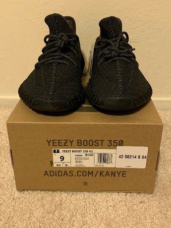 Adidas YEEZY Boost 350 V2 Sply Static Black Kanye West Ultra 1/3 42