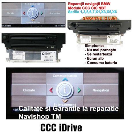 Reparatii Navigatie BMW CCC CIC NBT NBT E90 E60 E87 F10
