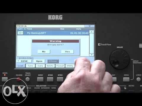 НОВ тъч скрийн за Korg PA 600 или PA3X