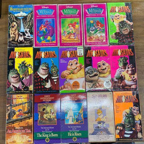 Casete video VHS,Originale, made in SUA Desene Animate