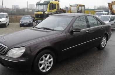 Mercedes S 320 CDI/400/500 на части 2001