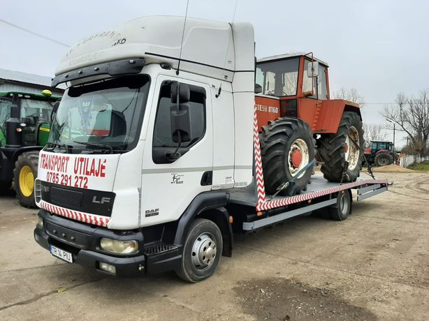 Tractari auto Alexandria Transport Buldo Tractor Ifron Remorca Manitou