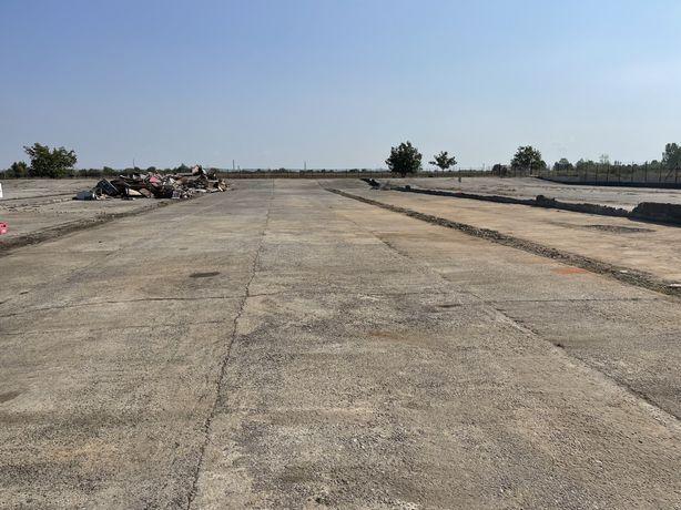 Vand/Inchiriez/Schimb teren Industrial cu platforme betonate Tarian