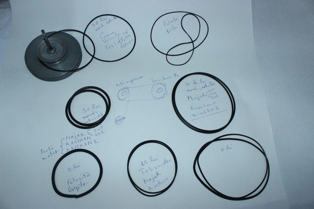 Curele noi de magnetofon Kashtan, Majak, Tesla, pretul in descriere.