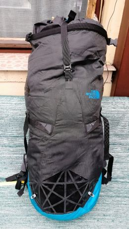Раница The North Face SHADOW 30+10 синьо/сива
