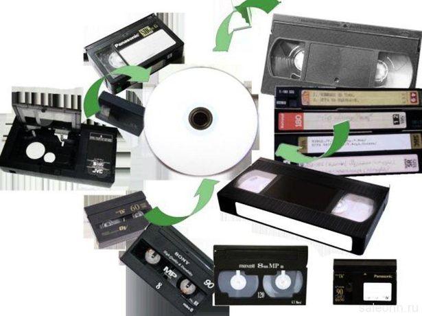оцифрую домашнее видео с кассет не дорого