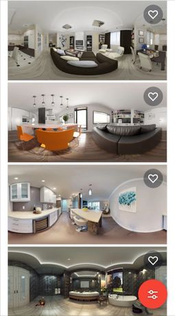 360 градуса заснемане, виртуални 3D турове на недвижими имоти