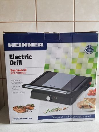 Grill electric Heinner