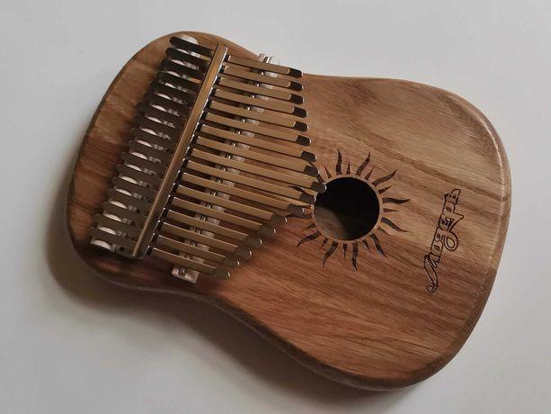 Калимба музыкальный инструмент из цельного дуба (Россия)