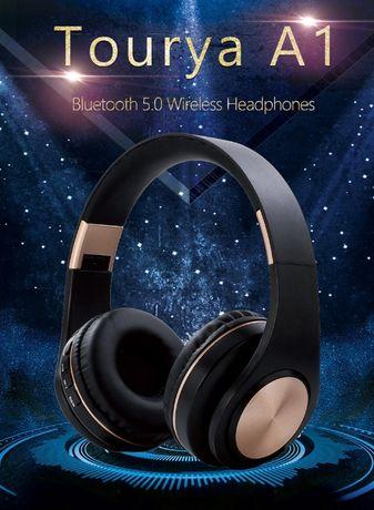 Новые Bluetooth наушники с микрофоном беспроводные ДОСТАВКА по Алматы