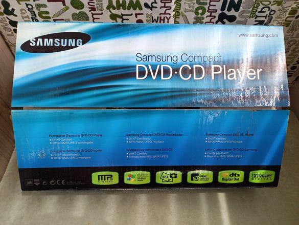 SAMSUNG DVD ДВД Самсунг + стойка за под телевизор