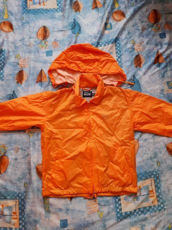 Оранжево шушляково яке с подплата
