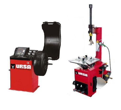 Комплект гумодемонтажна и баланс машина URSA USA