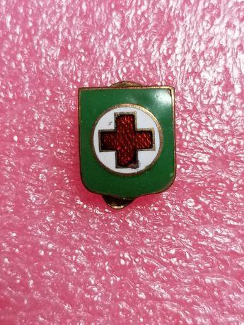 Insigna Cruce roșie, sanitara, medicina.