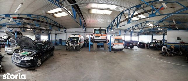 Hala Industriala activitate service auto - Selimbar DN 1