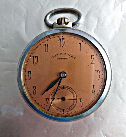 Часовник швейцарски джобен от 1939 година - работи