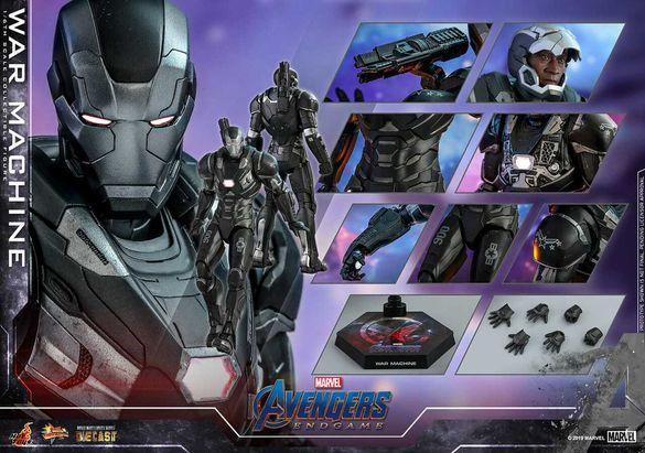 Колекционерска фигурка Hot Toys War Machine Mark 6 Iron Man Endgame