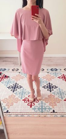 Ашык розовый тусти койлек, размер 42
