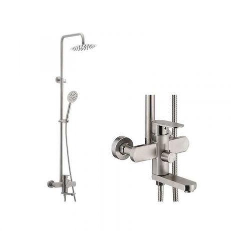 Baterie sanitara pentru dus sau cada baie cu coloana MIXXUS AVA-009-J