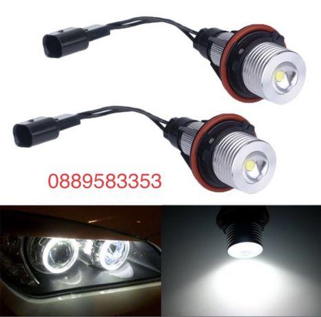 LED Крушки Angel Eyes ЛЕД Ангелски Очи BMW E39 Е53 Е60 Е61 Е63 Е64 Е83