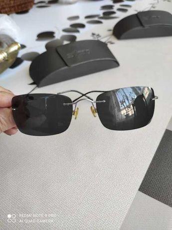 silhouette очки черные