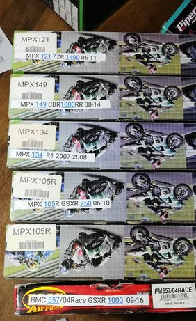 Filtre aer Pipercoss si BMC Honda, Suzuki, Yamaha, Kawasaki