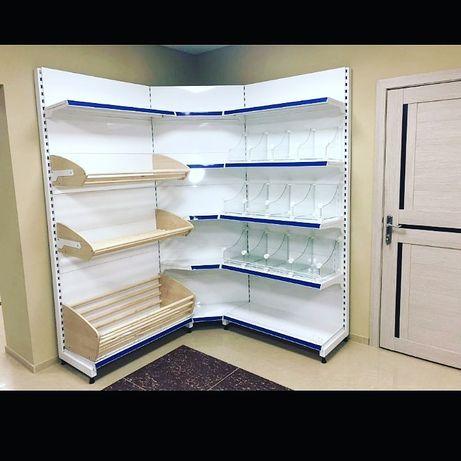 Торговое оборудование стеллажи для магазина полки прилавки витрины