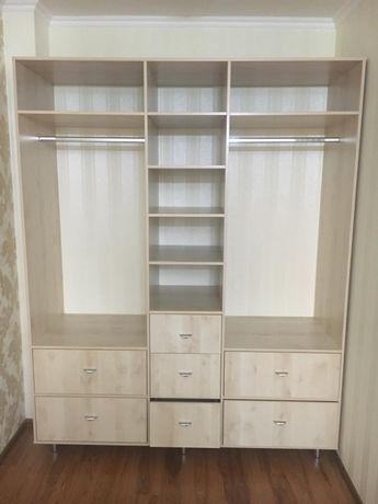 Шкафы: стеллаж и шкаф-купе