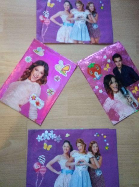 Coperti noi 3D cu Violeta + geantă cu Violeta