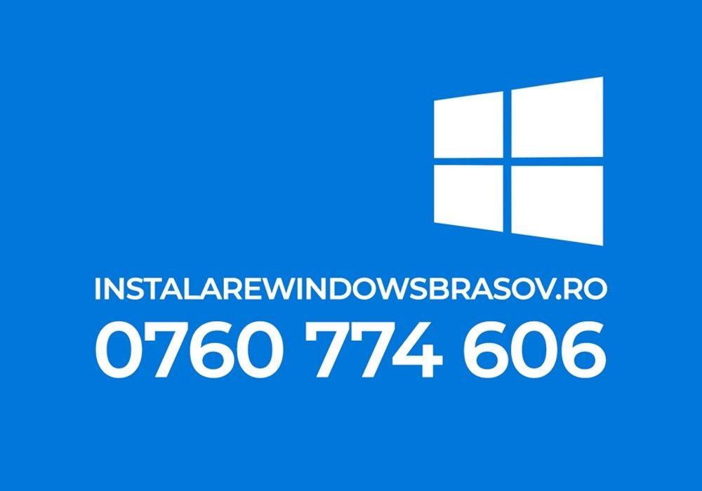 Instalare Windows Brasov Sacele Ghimbav Codlea Zarnesti Predeal Sf. Gh Brasov - imagine 1