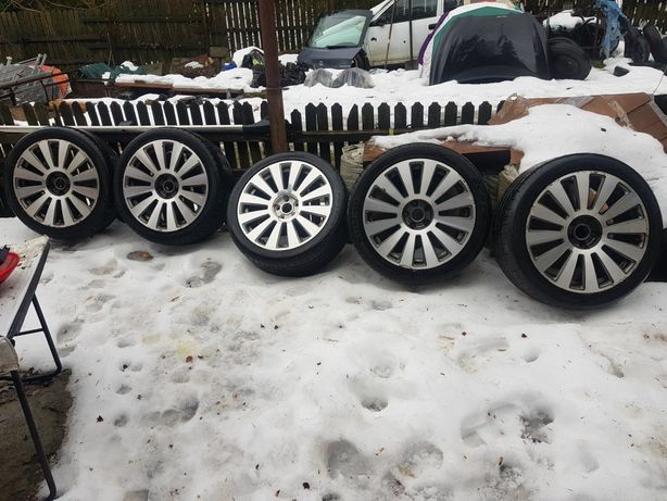 Set Jante cu cauciucuri Audi A8 255/40/ZR19 5x112
