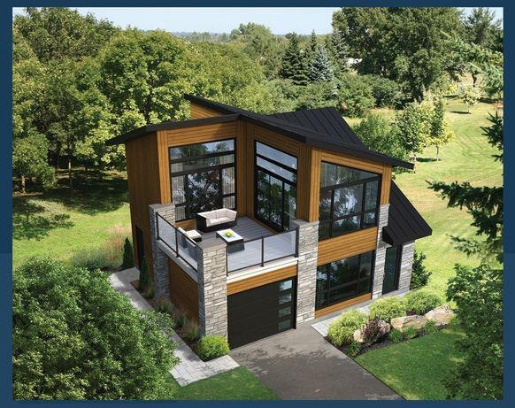 Сглобяеми къщи. Пакет Груб Строеж. Проекта е 120м2 + 24м2 тераса