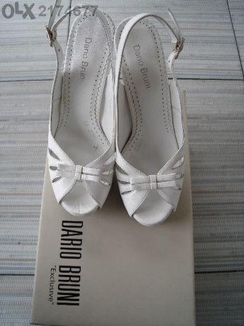 """дамски сандали с висок ток """"Дарио Бруни"""" - естествена кожа"""
