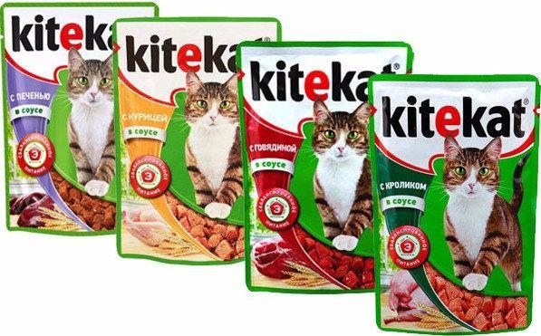Корм для кошек Кити кет kitekat