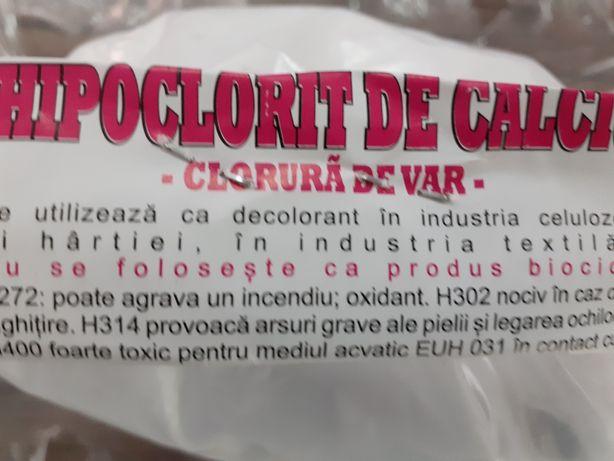 Cloramina clorura de var 1kg. 10ei. Nr tel in enunt.