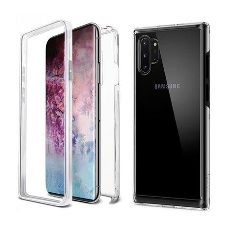 Samsung Note 8 9 10 10 Plus - Husa 360 Plastic Transparenta Fata Spate